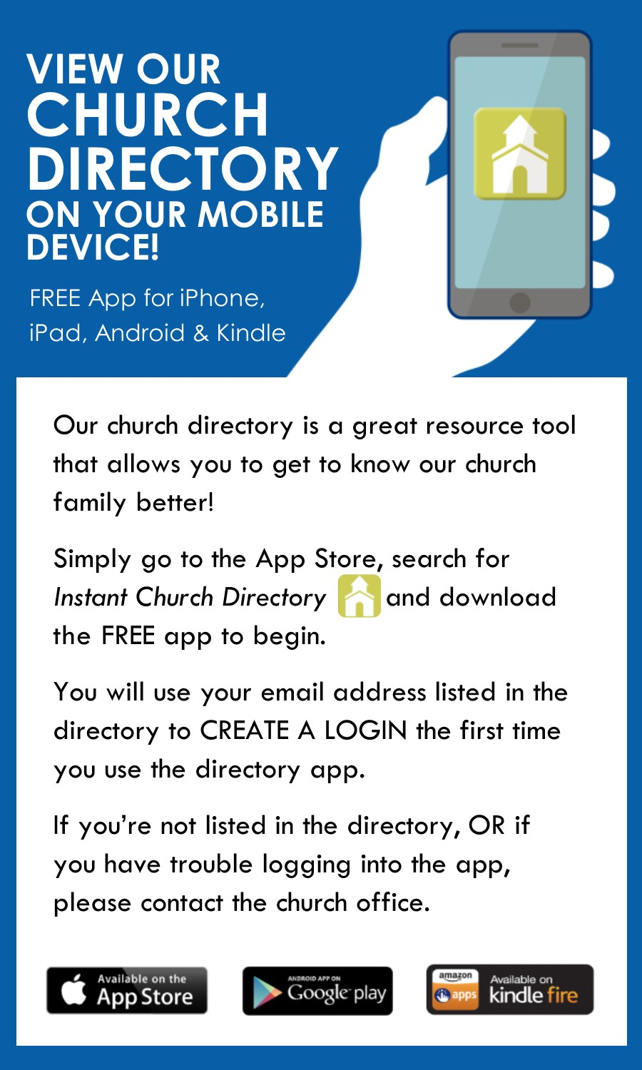 Free Printable Church Directory Template from download.instantchurchdirectory.com